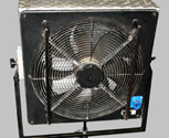 24 inch fan on an optional wheeled base
