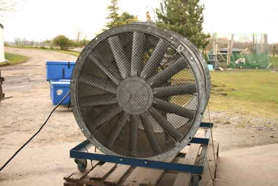 32 inch three-phase special effect wind machine