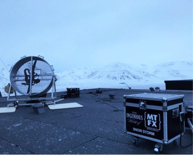 MTFX on set with Fortitude image
