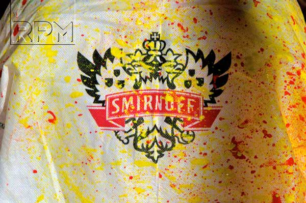 Smirnoff PaintFest trial at London Bridge