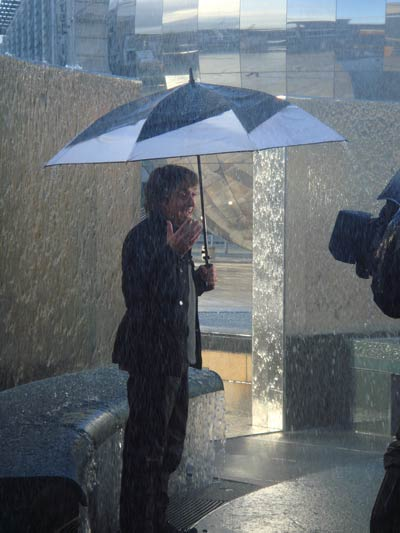 Rain special effects for Richard Hammond's Invisible World