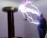 Sarcophagus Faraday Cage high voltage special effect