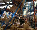 Behind the scenes of the Casualty racking collapse hydraulic special effect