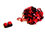 Photo of Streamers metallic red