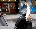 MTFX created a puddle splash effect for a Samsung S5 advert.