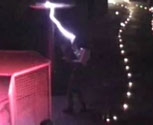 SG150 Tesla coil with Faraday Cage in Turkey