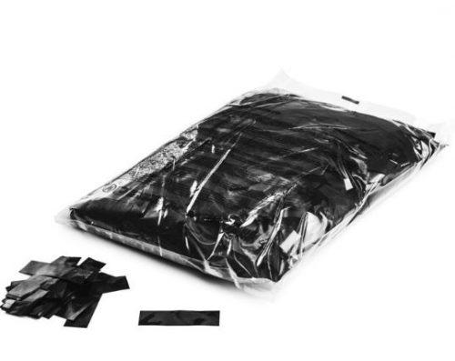 Black Metallic Confetti