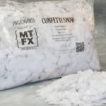 Square Confetti Snow