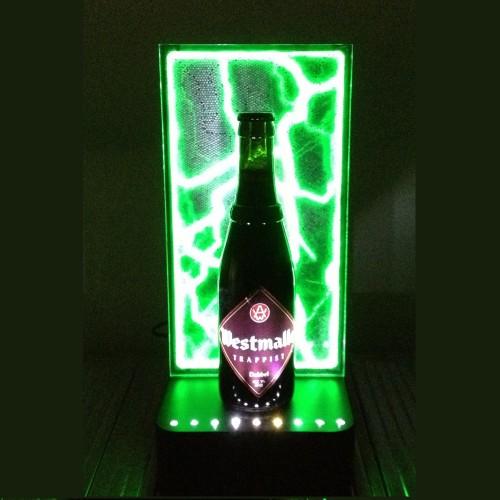 Lightning Plasma Panel Display - Green