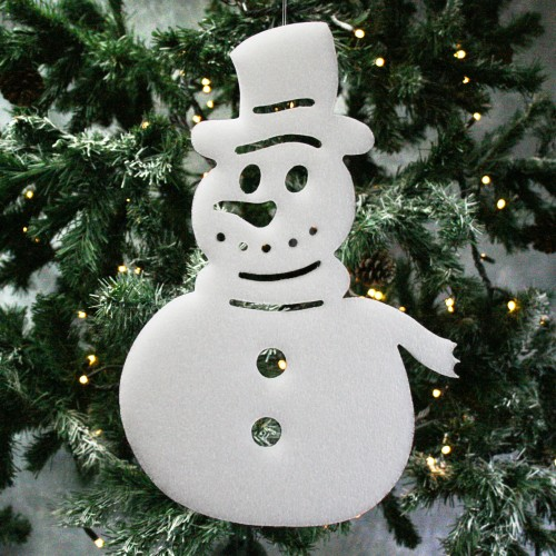 Decorative Snowman