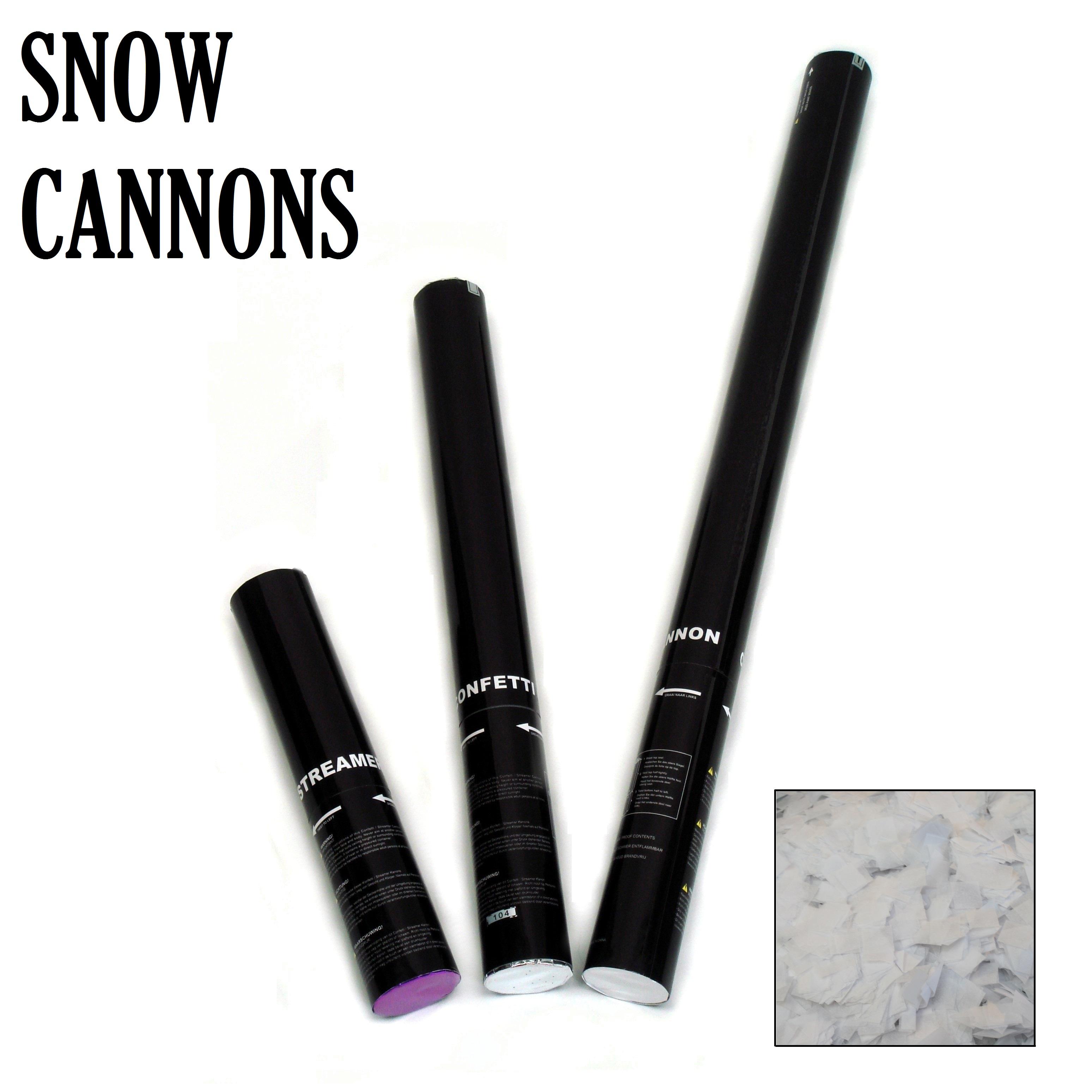 snow confetti