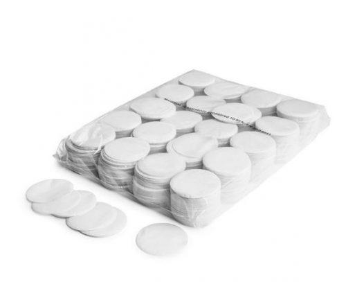 Circle Confetti White