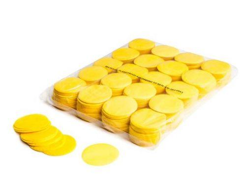 Circle Confetti Yellow