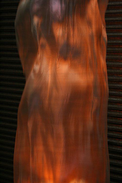 Large silk flame