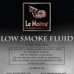 Low Smoke Le Maitre