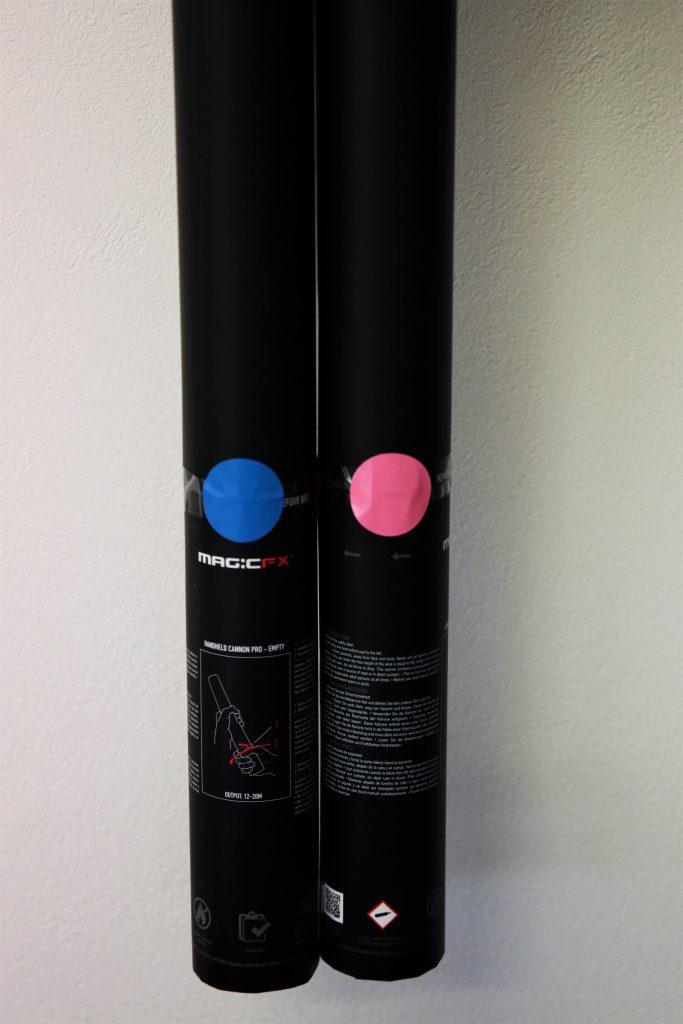 Gender Reveal Handheld Confetti Launchers | MTFX Online Shop